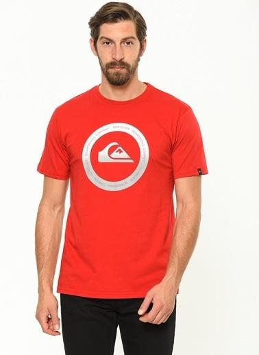 Quiksilver Tişört Kırmızı